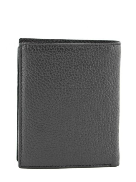 Wallet Leather Crinkles Black 14089 other view 2