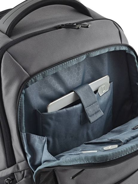 Backpack Samsonite Black cityscape 41D104 other view 8