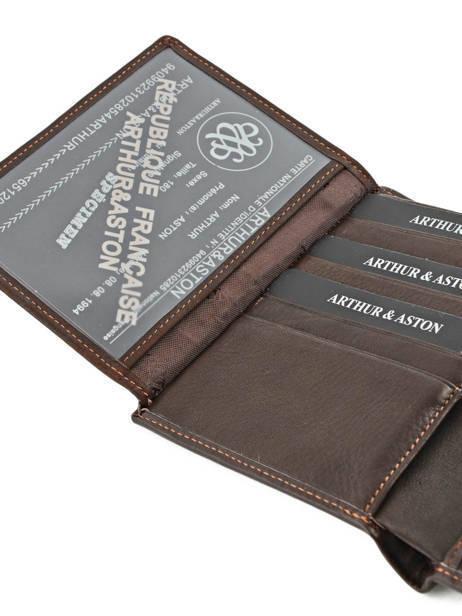 Wallet Leather Arthur et aston Black jasper 1589-678 other view 4