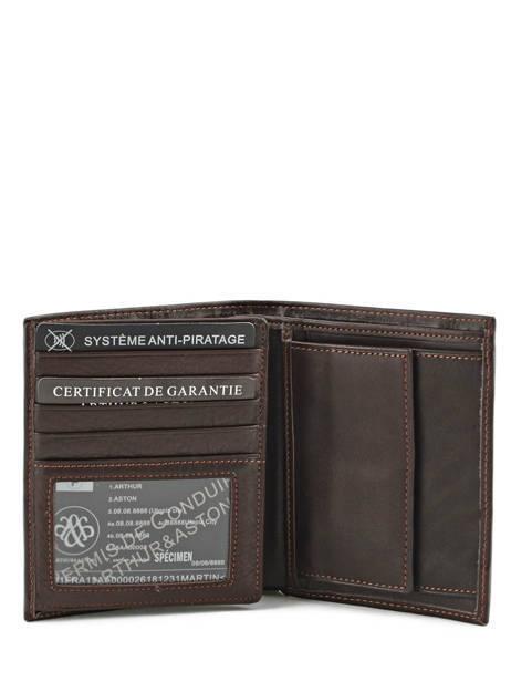 Wallet Leather Arthur et aston Black jasper 1589-678 other view 3