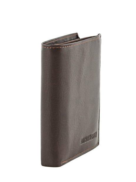 Wallet Leather Arthur et aston Black jasper 1589-678 other view 1