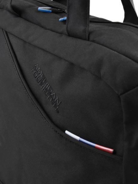Porte-ordinateur 1 Compartiment + Pc 17'' American tourister Noir at business 3 59A001 vue secondaire 1