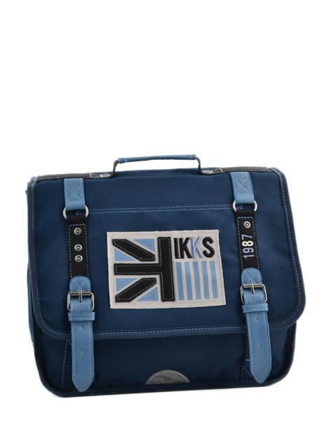 Cartable 1 Compartiment Ikks Bleu uk 5UKCA35