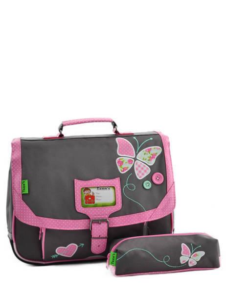 cartable tann 39 s butterfly 5buca35 en vente au meilleur prix. Black Bedroom Furniture Sets. Home Design Ideas
