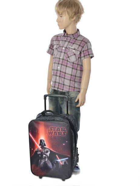 Kids' Luggage Star wars Black lazer 13804 other view 2