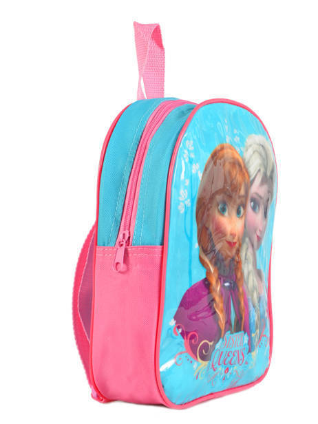 Backpack Frozen Blue basic AST1454 other view 3