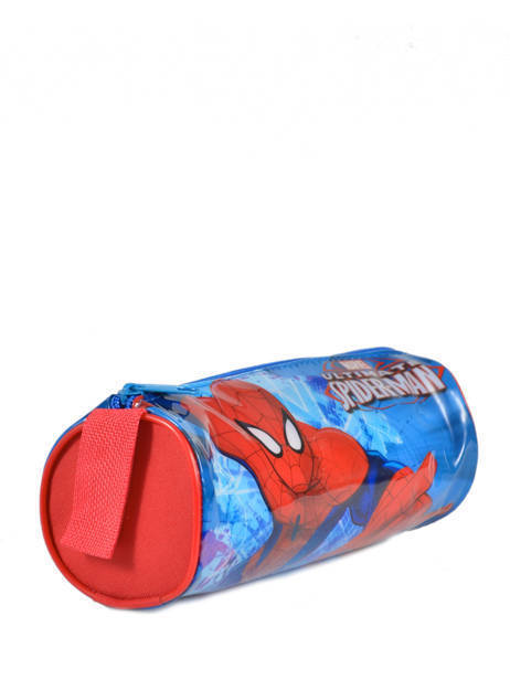 Trousse 1 Compartiment Spiderman Rouge basic AST2246 vue secondaire 2