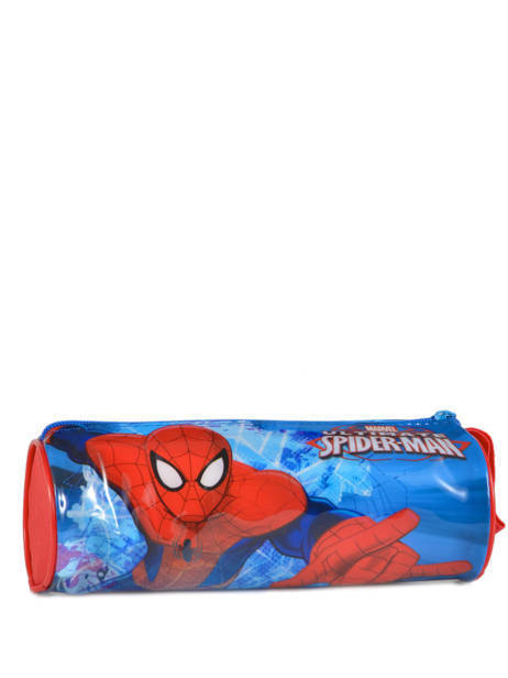 Trousse 1 Compartiment Spiderman Rouge basic AST2246 vue secondaire 3