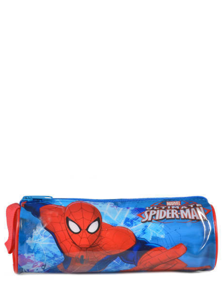 Trousse 1 Compartiment Spiderman Rouge basic AST2246