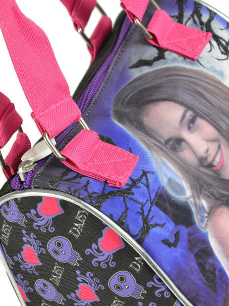 Sac Porté Main Chica vampiro Violet black pink 699TMF vue secondaire 1
