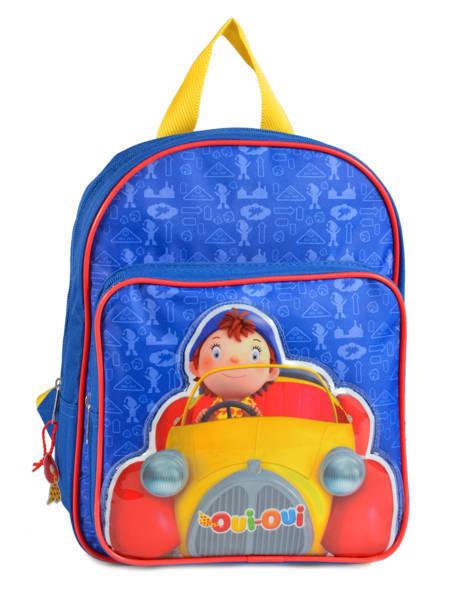 Backpack Oui oui Multicolor car 91910CAR