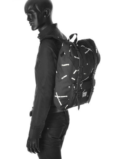 Backpack 1 Compartment + 13'' Pc Herschel Black classics 10020 other view 3