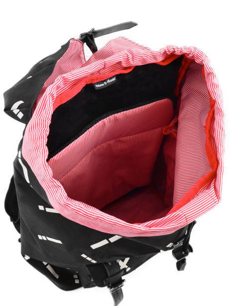 Backpack 1 Compartment + 13'' Pc Herschel Black classics 10020 other view 6