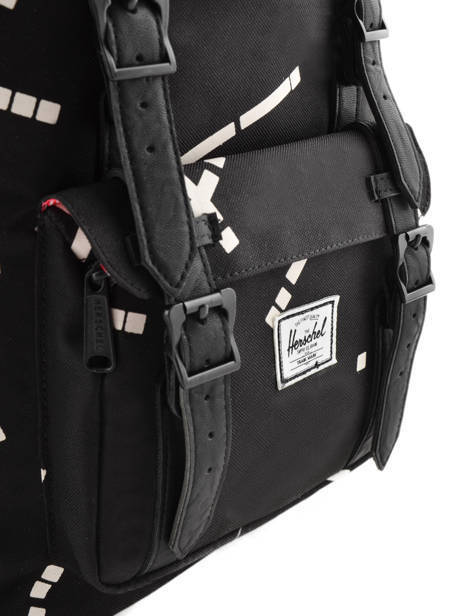Backpack 1 Compartment + 13'' Pc Herschel Black classics 10020 other view 1