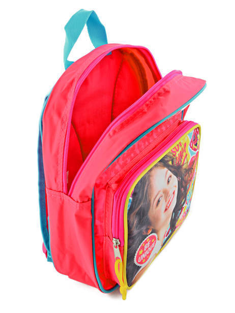 Backpack 1 Compartment Soy luna Multicolor be unique 95810SOY other view 5