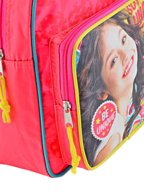 Backpack 1 Compartment Soy luna Multicolor be unique 95810SOY other view 1