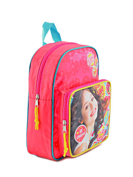 Backpack 1 Compartment Soy luna Multicolor be unique 95810SOY other view 3