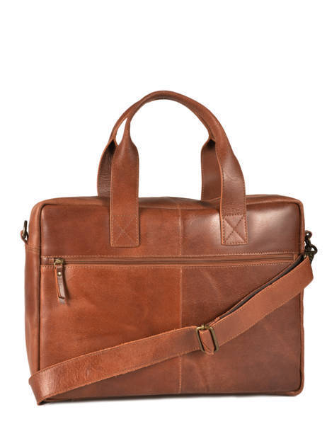 Briefcase 15'' Laptop Burkely Brown river 797022 other view 4
