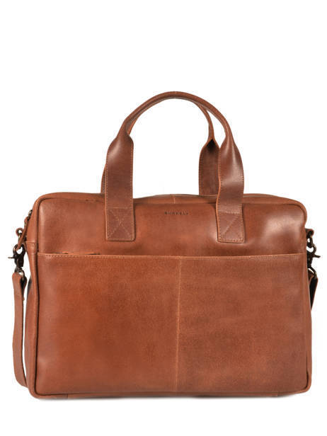 Briefcase 15'' Laptop Burkely Brown river 797022