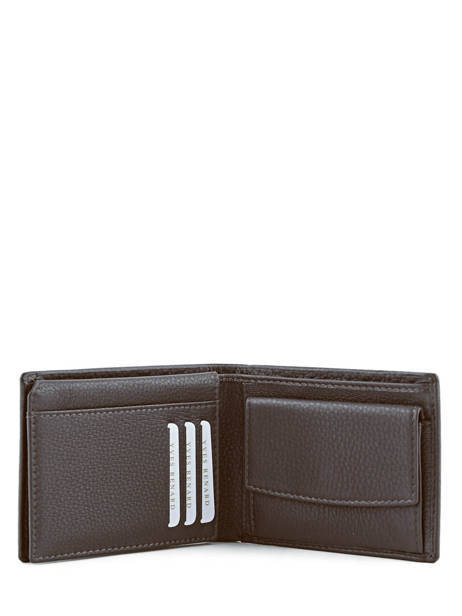 Wallet Leather Yves renard Brown 2376 other view 4