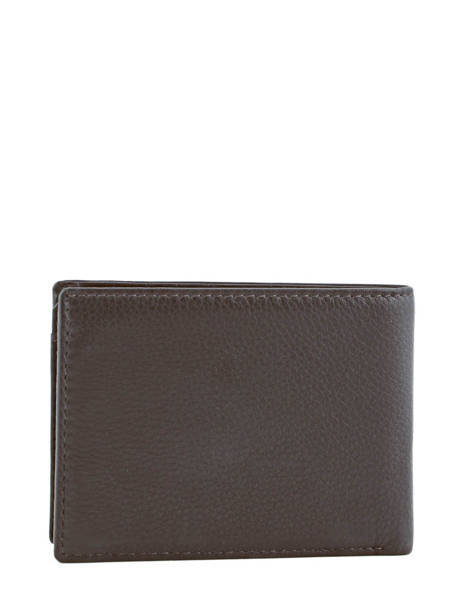 Wallet Leather Yves renard Brown 2376 other view 3