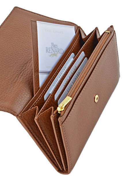 Wallet Leather Yves renard Brown 29851 other view 3