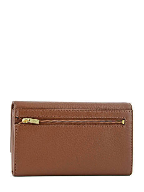 Wallet Leather Yves renard Brown 29851 other view 2