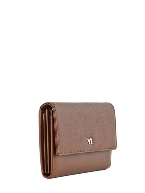 Wallet Leather Yves renard Brown 29851 other view 1