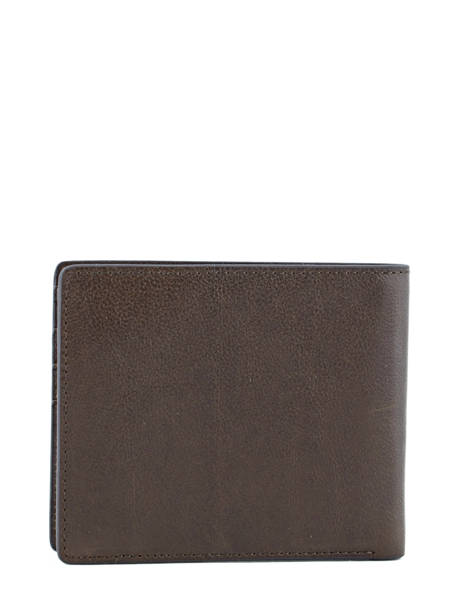 Wallet Leather Redskins Brown wallet BASILE other view 2