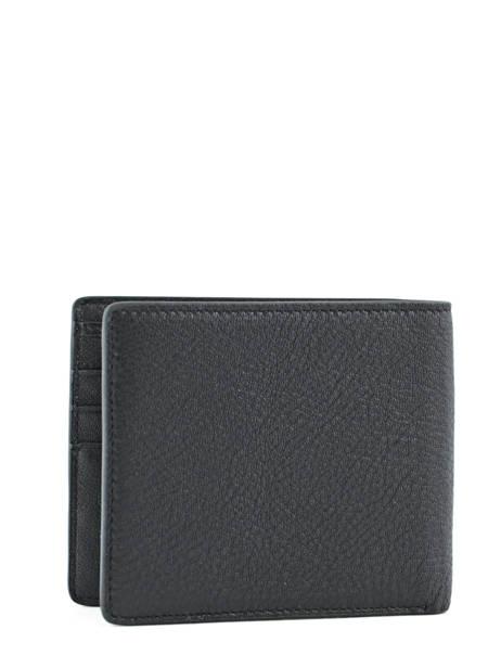Wallet Leather Redskins Black wallet BASILE other view 2