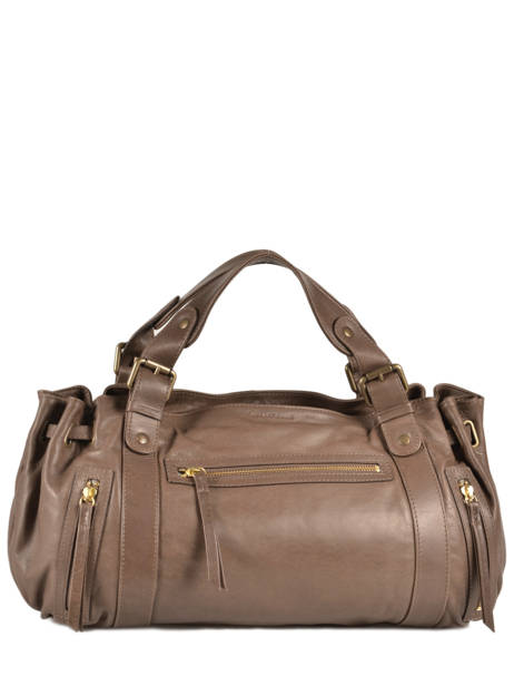 Sac Shopping 24h Cuir Gerard darel Marron 24h 704-401