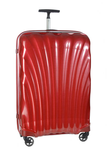 Hardside Luggage Samsonite Red V22304