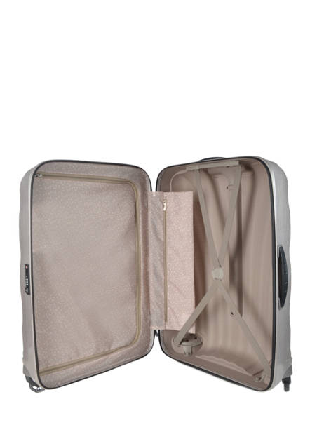 Hardside Luggage Samsonite Gray V22306 other view 7