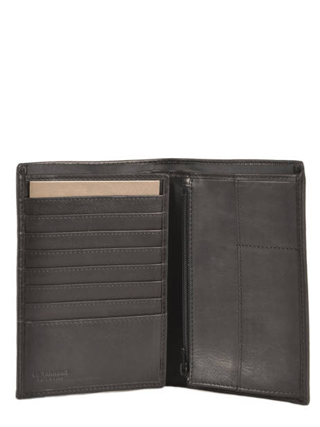 Portefeuille Cuir Le tanneur Noir gary TRA3318 vue secondaire 1