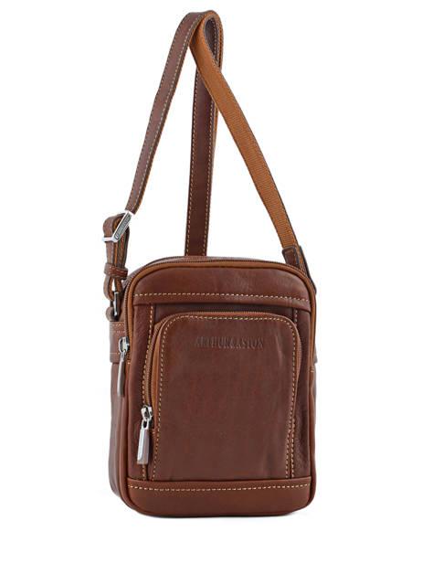 Crossbody Bag Arthur et aston Brown jasper 1589-08