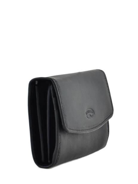 Purse Leather Katana Black daisy 553041 other view 1