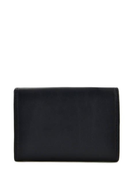 Purse Leather Katana Black daisy 553041 other view 2