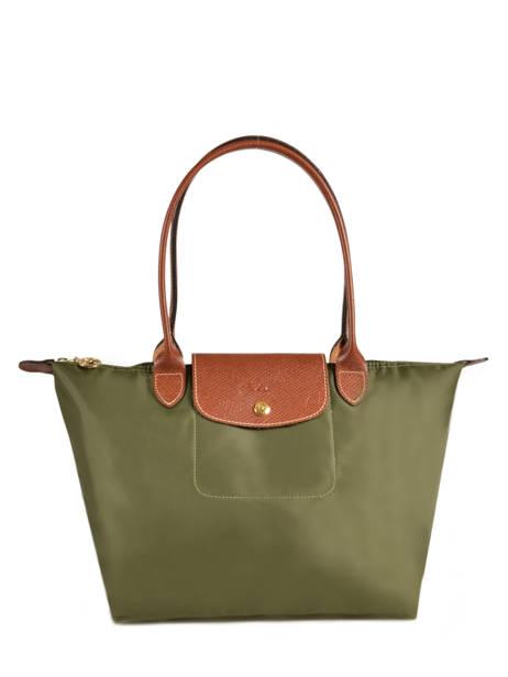 Longchamp Besaces Vert