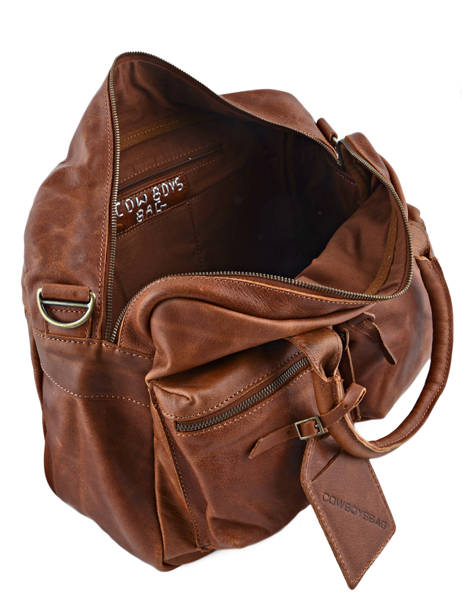 Porte-documents 1 Compartiment A4 Cowboysbag Marron vegetal 1030 vue secondaire 4
