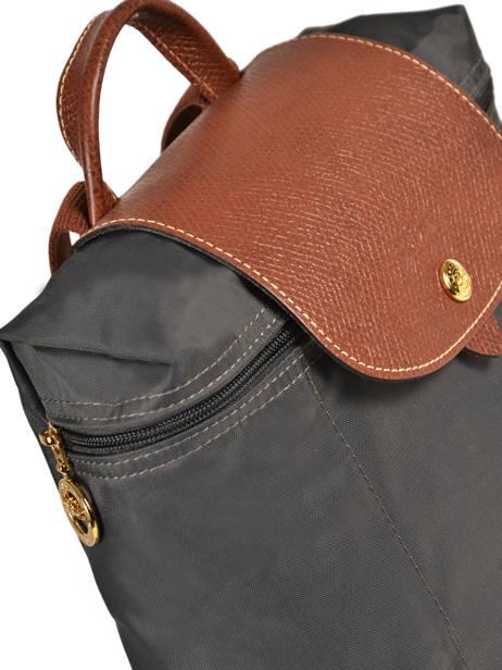 Longchamp Sac à dos Gris