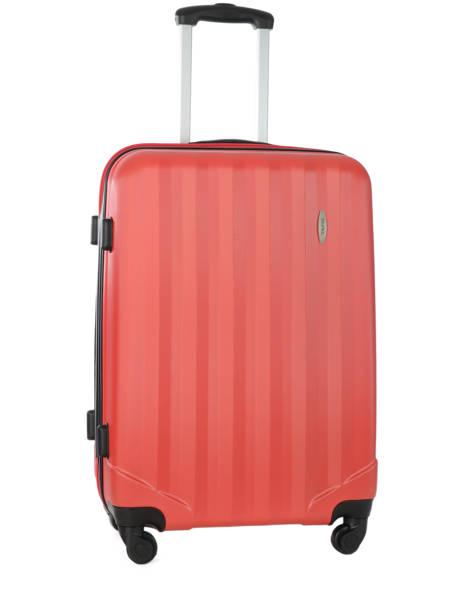 Valise Rigide Barcelone Travel Rouge barcelone IG1412-M