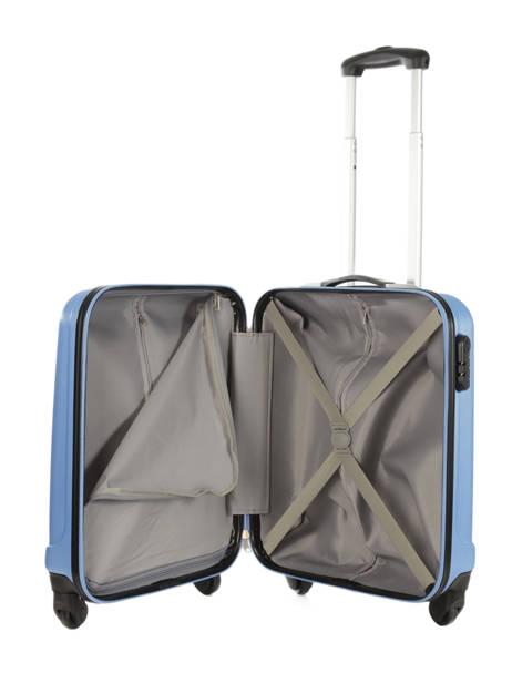 Valise Cabine Rigide Travel Bleu barcelone IG1412-S vue secondaire 4