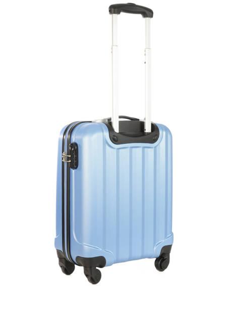 Valise Cabine Rigide Travel Bleu barcelone IG1412-S vue secondaire 3