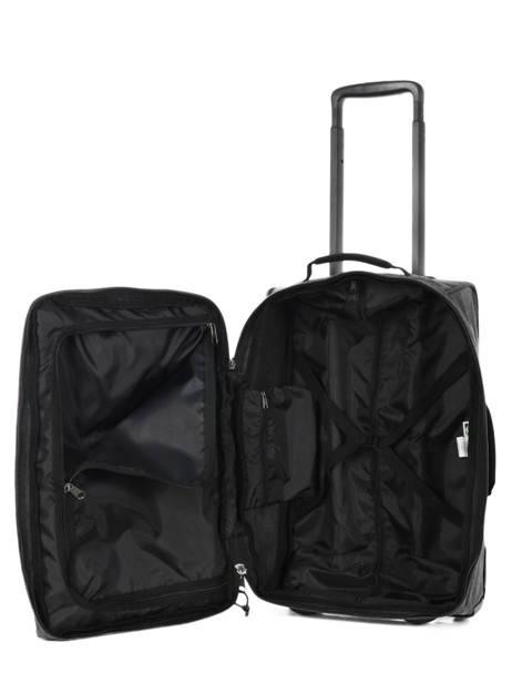 Valise Cabine Eastpak Noir authentic luggage K35F vue secondaire 4