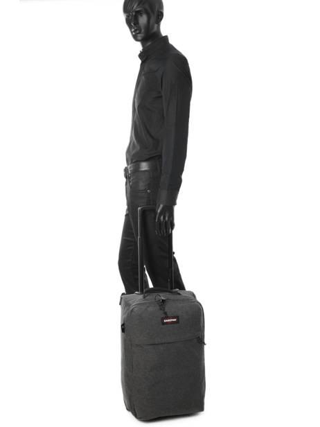 Valise Cabine Eastpak Noir authentic luggage K35F vue secondaire 2