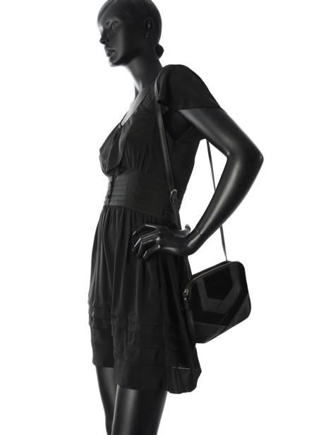 Sac Bandoulière Anita Cuir Nat et nin Noir vintage ANITA vue secondaire 2