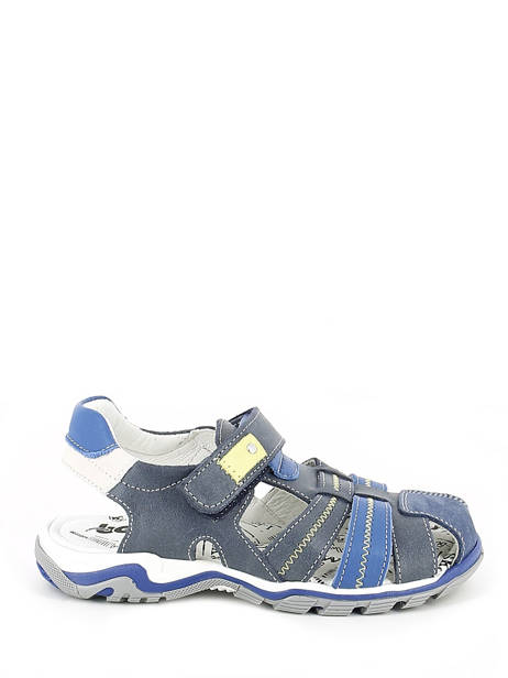 Sandales Bopy Bleu sandales / nu-pieds EBRIAC vue secondaire 1