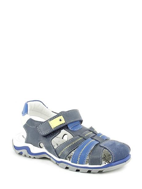 Sandales Bopy Bleu sandales / nu-pieds EBRIAC