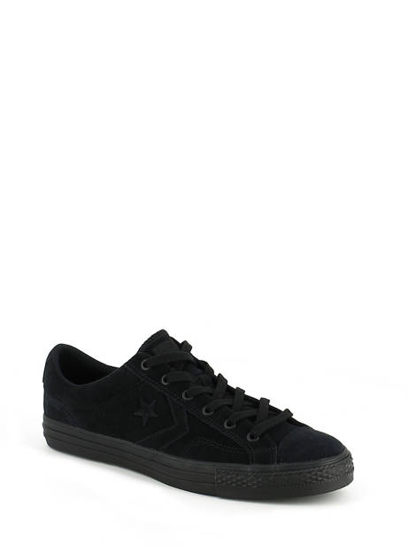 Star Player Ox Converse Noir baskets mode 155405C