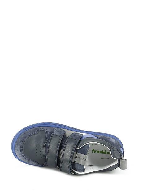 Baskets Froddo Bleu baskets mode G3130095 vue secondaire 4